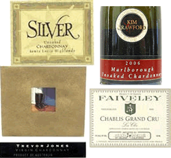 Unoaked Chardonnay Labels